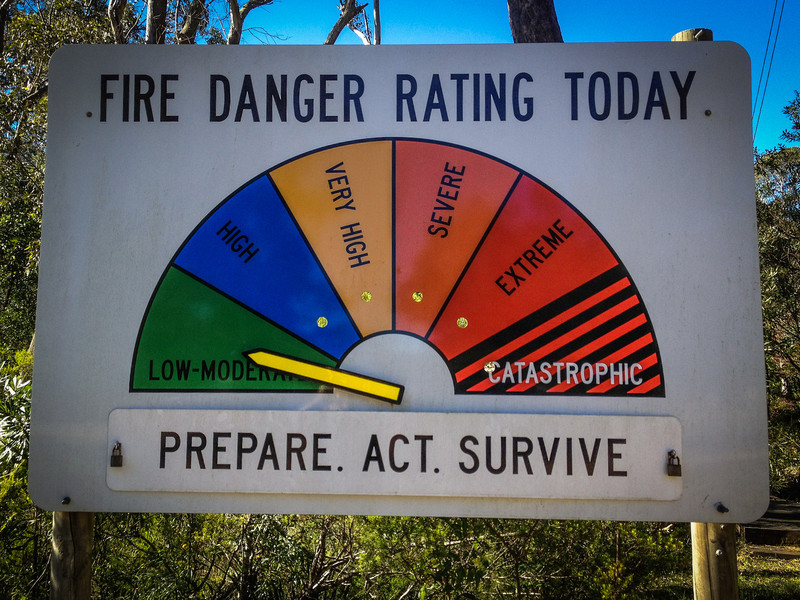 These signs are reasonably common (and updated regularly) in tree-filled areas across Australia.