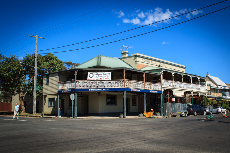 The Commercial Hotel took over from the Farmers United Home Hotel which traded from 1865.