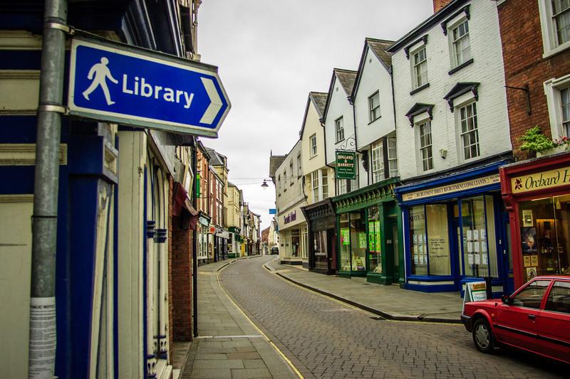 Leominster, England<br /> Leominster, England