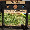 Sofala, NSW, Australia<br /> Child Minding. Outside the former Sofala Post Office.