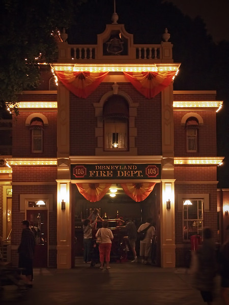 Walt's Apartment over the Fire Dept. at Disneyland - 27 Sept 2011