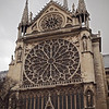Notre Dame Cathedral in Paris - 17 Nov 2011