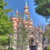 Sleeping Beauty's Castle at Disneyland - HDR - 14 Mar 2010
