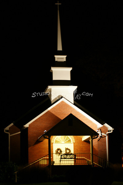 Church in Franklin, North Carolina : 2009