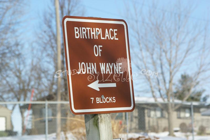 (132) Birthplace of John Wayne, Madison County, Iowa