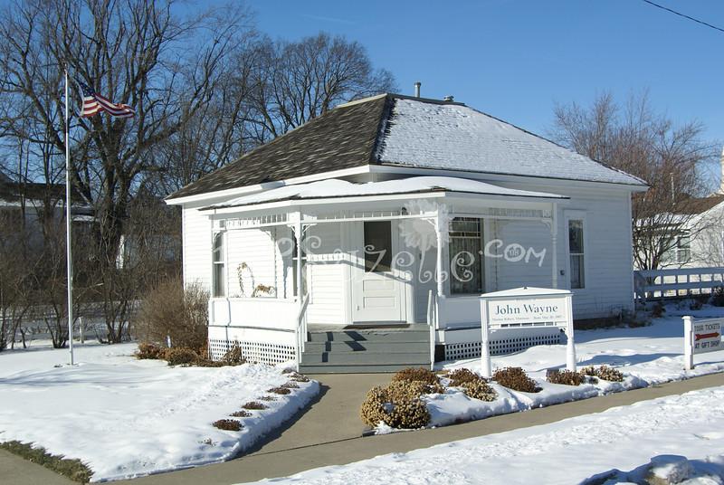 (133) Birthplace of John Wayne, Madison County, Iowa