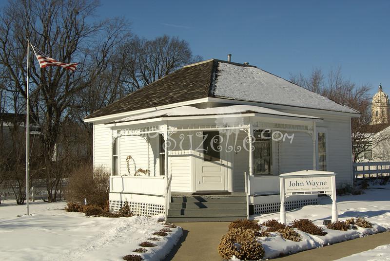 (136) Birthplace of John Wayne, Madison County, Iowa