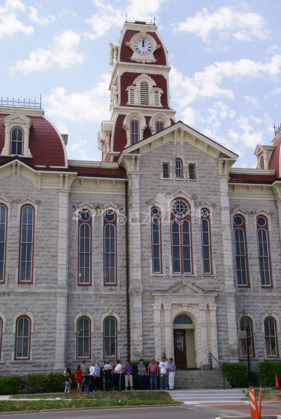 (131) Parker County Texas Courthouse : 2008