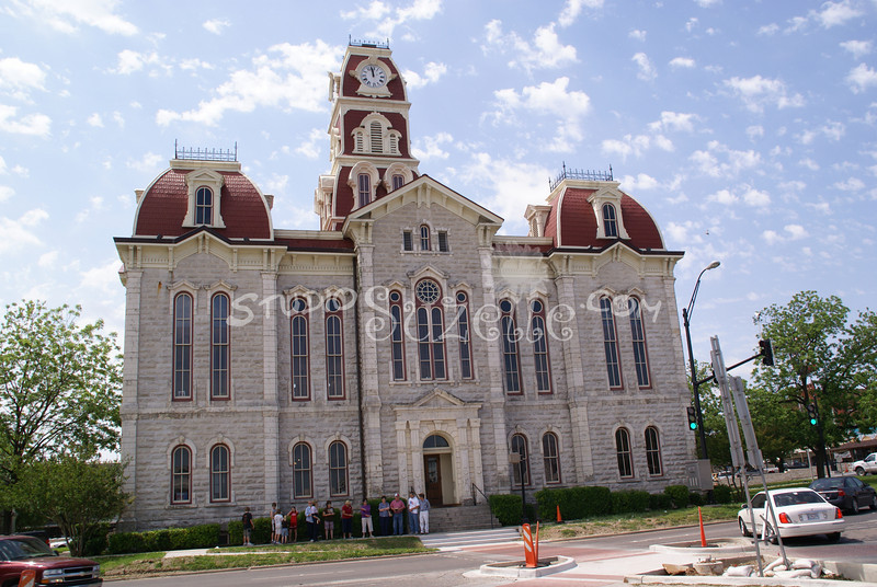 (121) Parker County Texas Courthouse : 2008