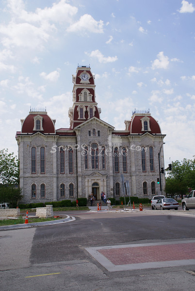 (103) Parker County Texas Courthouse : 2008