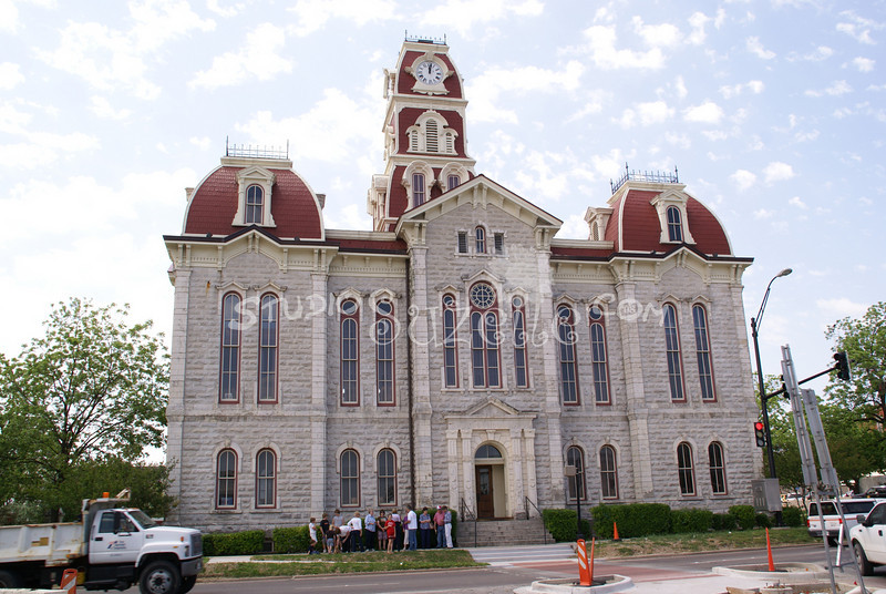 (132) Parker County Texas Courthouse : 2008