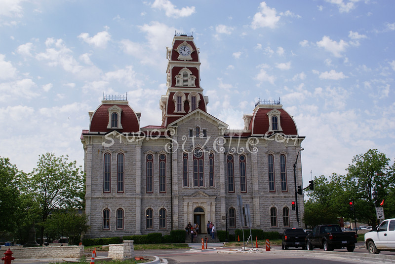 (104) Parker County Texas Courthouse : 2008