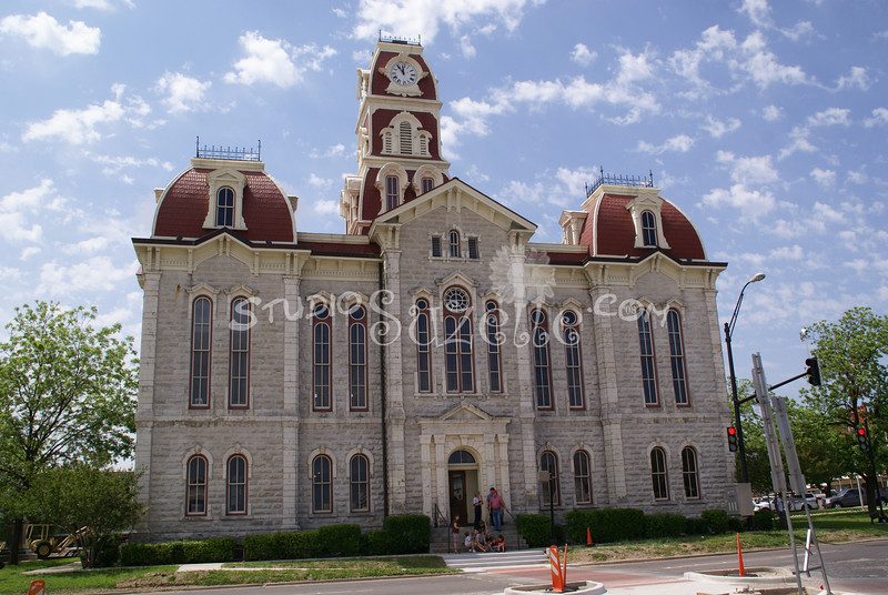(109) Parker County Texas Courthouse : 2008
