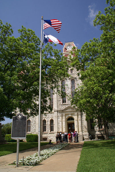 (164) Parker County Texas Courthouse : 2008