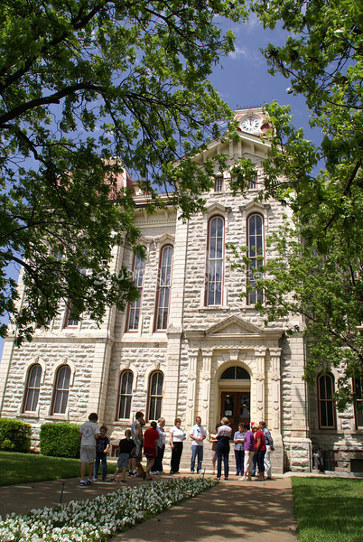 (135) Parker County Texas Courthouse : 2008