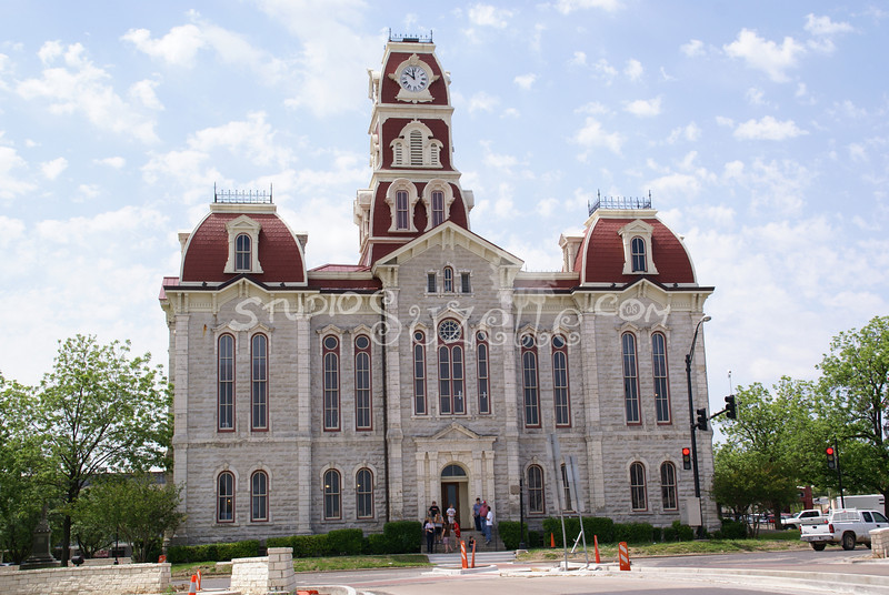 (106) Parker County Texas Courthouse : 2008