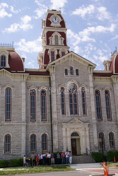(130) Parker County Texas Courthouse : 2008