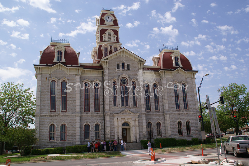 (118) Parker County Texas Courthouse : 2008
