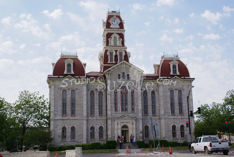 (105) Parker County Texas Courthouse : 2008