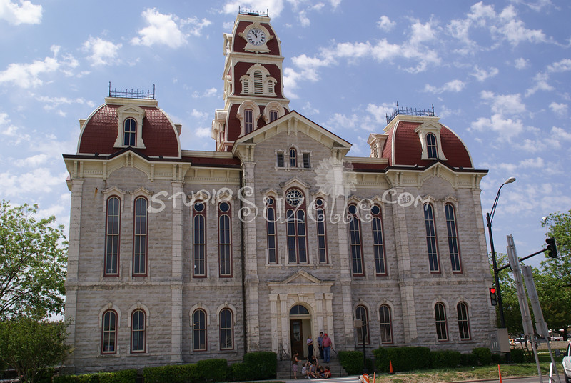 (108) Parker County Texas Courthouse : 2008