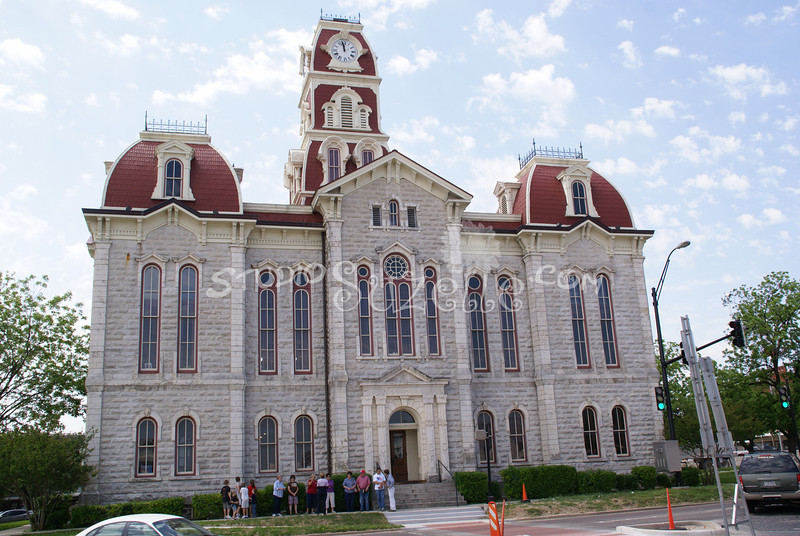 (120) Parker County Texas Courthouse : 2008