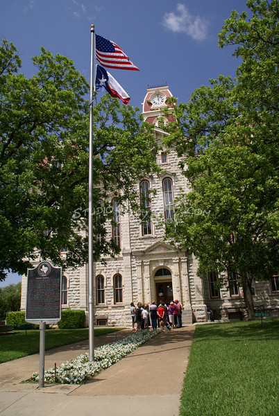 (156) Parker County Texas Courthouse : 2008