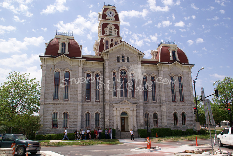 (134) Parker County Texas Courthouse : 2008