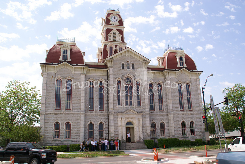 (133) Parker County Texas Courthouse : 2008