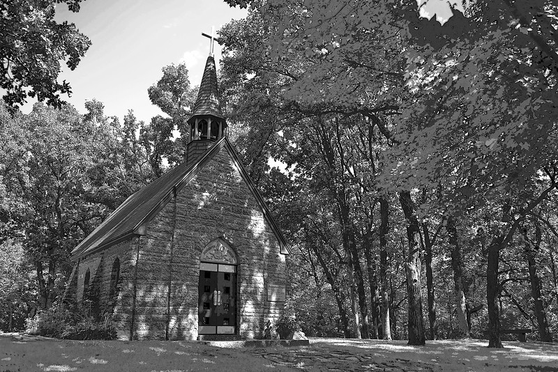 Grasshopper Chapel / Assumption Chapel<br /> Cold Spring, MN