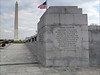 Washington & WWII monuments