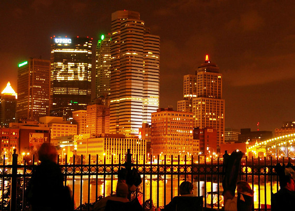 Downtown, Pittsburgh PA, 250th Anniversary