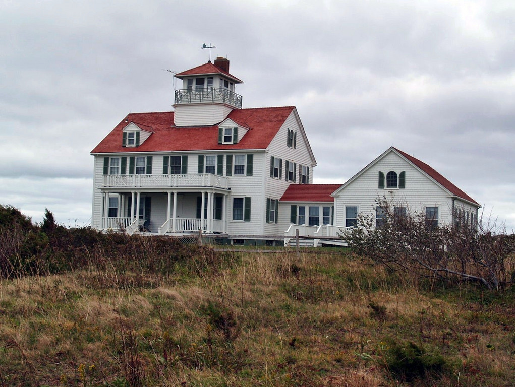 Decommissioned Coast Guard station.