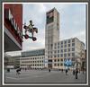 Marktplatz und Rathaus von Stuttgart