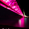 Think Pink: Sundial Bridge lighted in pink during Breast Cancer Awareness Week 2011, Redding, CA