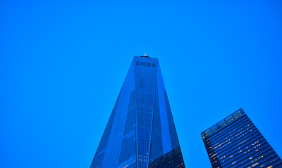 A Blue World Trade Center 1 & 7