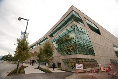 The new Surrey Public Library as seen from the southwest.
