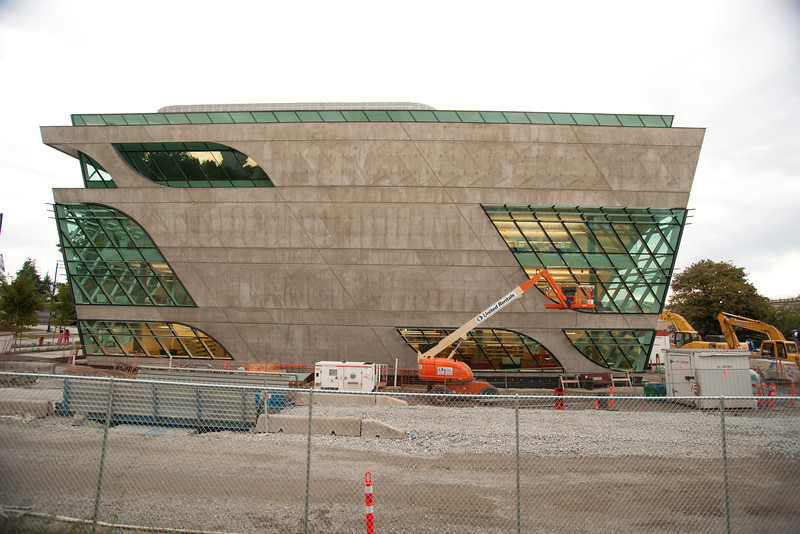 The new Surrey Public Library, seen from the south.