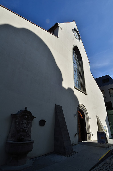 Konstanz - Dreifaltigkeitskirche (bývalá synagoga)