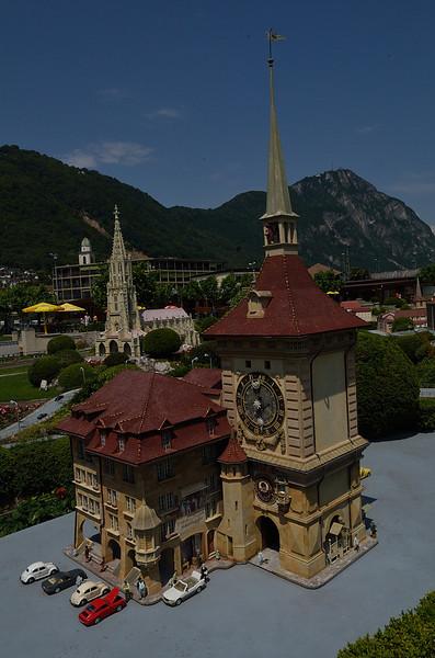 Zeitglockenturm v Bernu