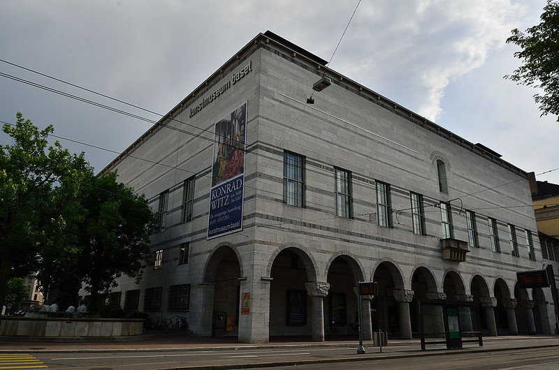 Kunstmuseum Basel - hlavní basilejská galerie, kterou jsem bohužel nenavštívil, protože zde není žádná sleva na Swiss Pass