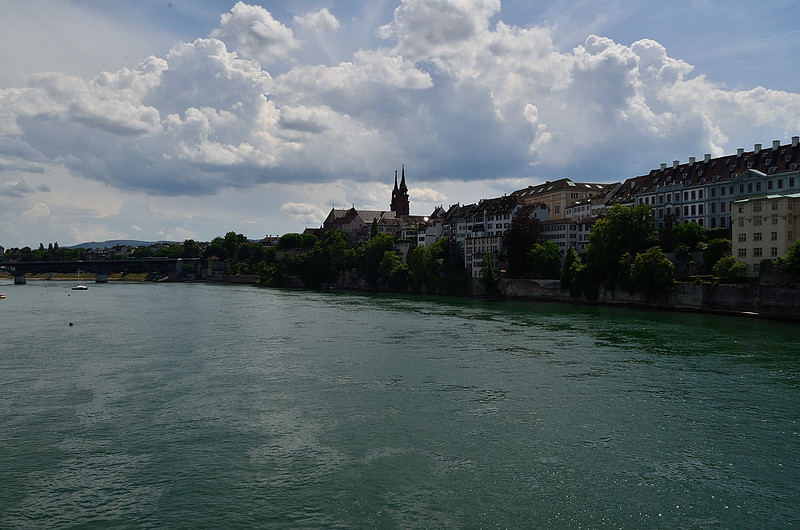 Rýn v Basileji