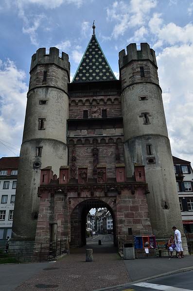 Spalentor - součást původního opevnění města