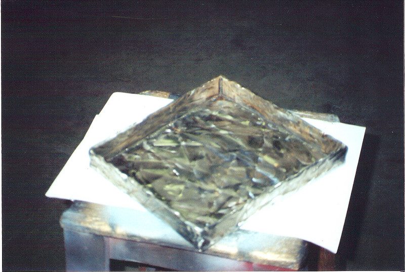 """Steel tray for the set of """"The Time Machine"""" (Warner Bros.)"""