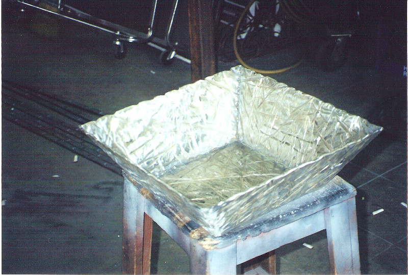 """Steel bowl for the set of """"The Time Machine"""" (Warner Bros.)"""