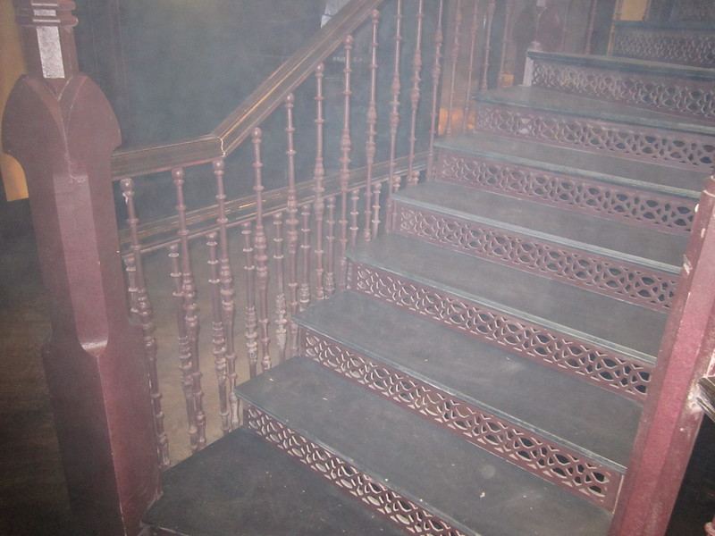 "Staircase and rails for the set of ""American Horror Story: Asylum"""
