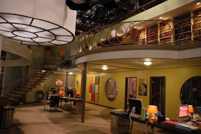 "Hand and stair rails for the set of ""Legally Mad"" (Warner Bros. Television)"
