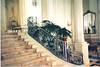 "Main staircase railing for the hotel lobby set of ""Out of Towners"" (Paramount Pictures)"