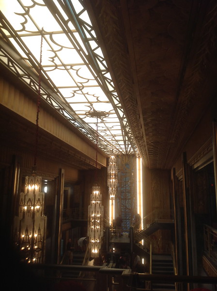 """Skylight for the set of """"American Horror Story: Hotel"""""""