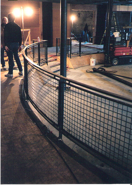 "Laboratory safety rail for the set of ""I Love Trouble"" (Ann Hall Productions)"