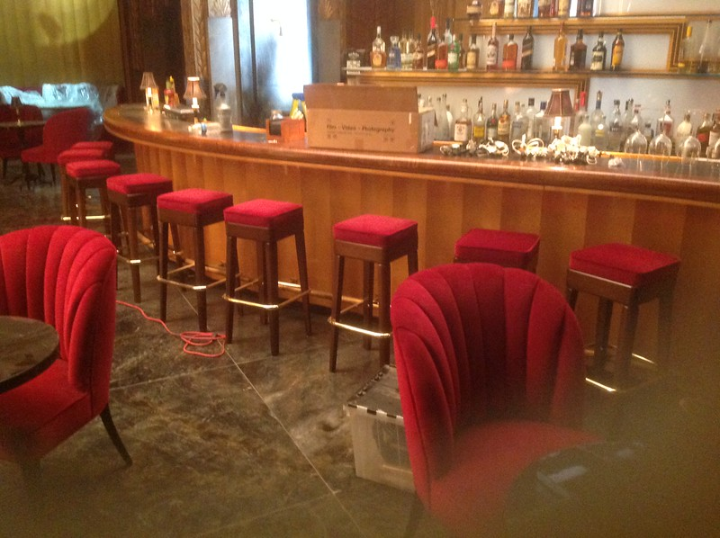"Bar on the set of ""American Horror Story: Hotel"""
